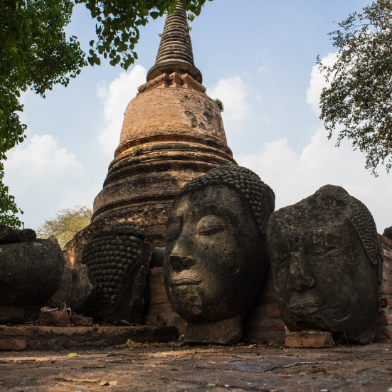 ATicketTo-Ayutthaya.Buddha heads